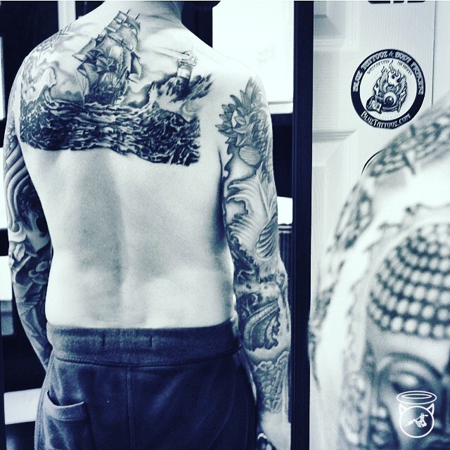 Black and Grey Tattoos